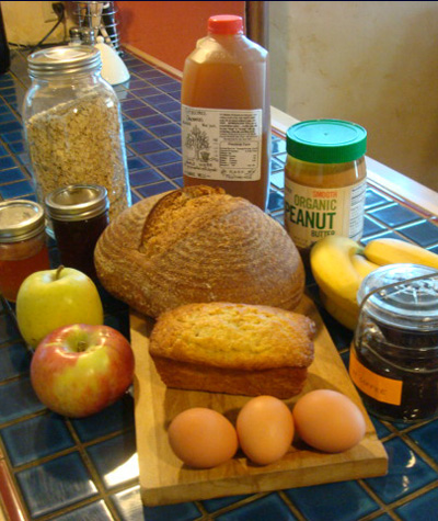 local organic foods sampler photo